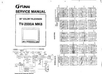 Схема телевизора фунай tv 2000a